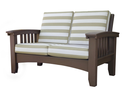 Mission Loveseat Cypress