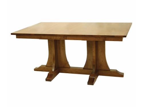 Hamilton Mission Double Pedestal Table 22004