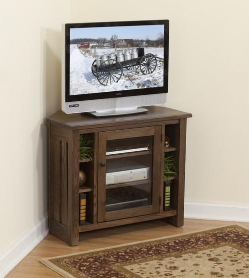 Mission Style Corner TC Cabinet