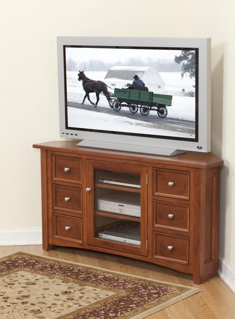 Garnet Corner TV Console