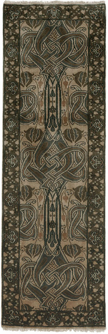 Celtic Knot Sage Hall Runner