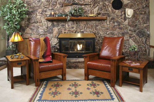 Mission Style Living Room Sets for Sale | Mission Motif