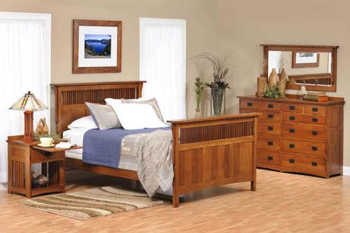 American Mission 4 piece bedroom set