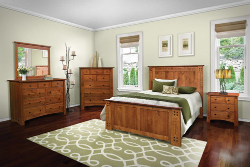 Olde Town Mission 5 Piece bedroom set