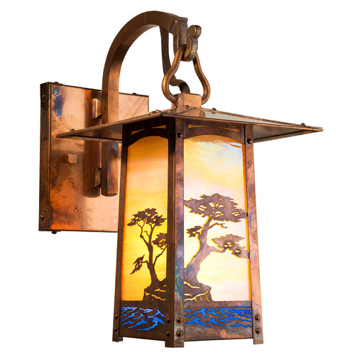 Cobblestone Hooked Arm Sconce