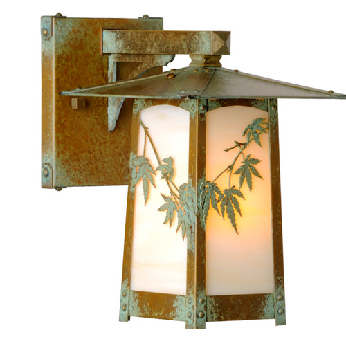 Fixed Arm Japanese Sconce