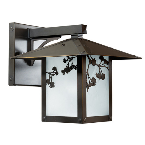 Ginkgo Fixed Arm Sconce