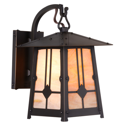 Poplar Glen Hooked Arm Sconce