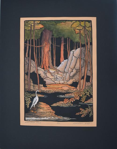 Woodland Pond Print