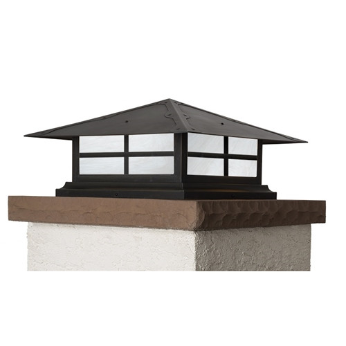 "Spring Street Column Mount with 18"" Roof 1025-61"