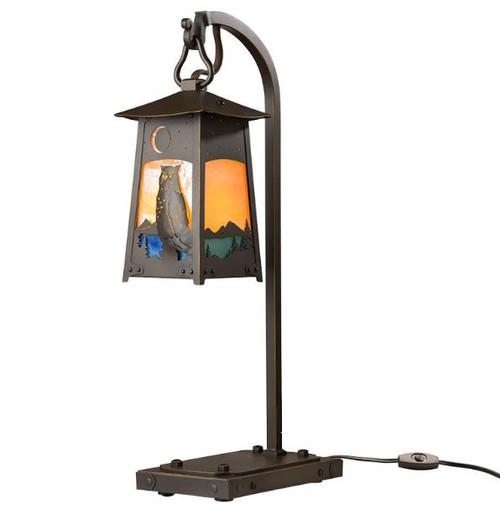 Great Horned Owl Lantern