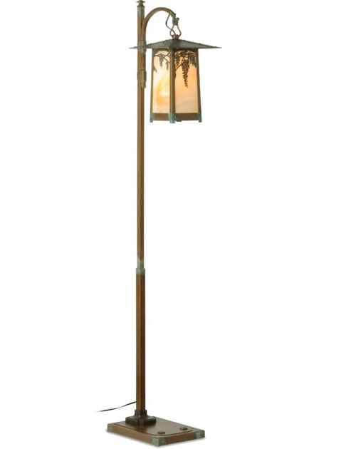 Wisteria Hook Arm Floor Lamp