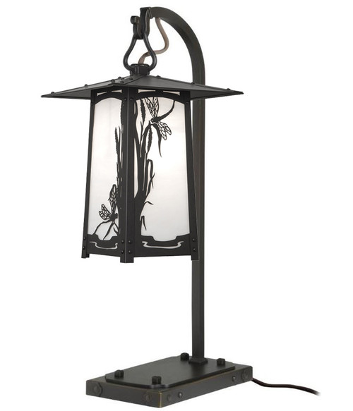 Dragonfly Hook Arm Table Lamp