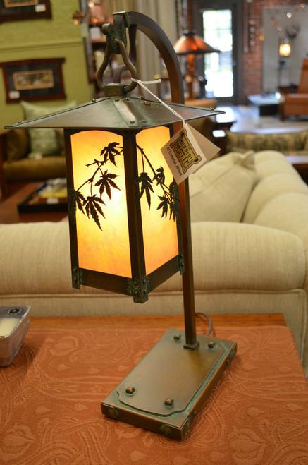 Japanese Maple Hook Arm Table Lamp