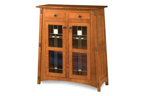 """McCoy 48""""H Mission Style Cabinet"""