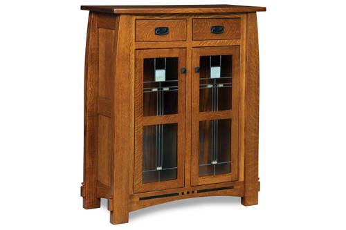 "Colebrook 48""H Mission Style Cabinet"