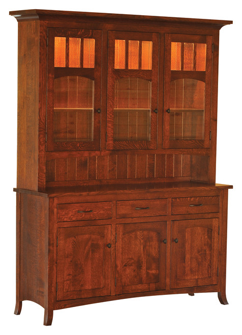 Biltmore 3 Door Hutch #1-3-SV