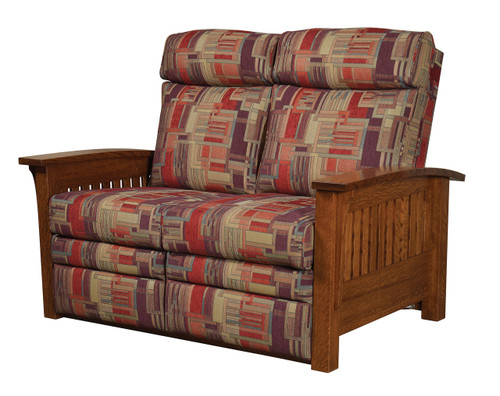 Mission Recliner Love Seat 1800-QF