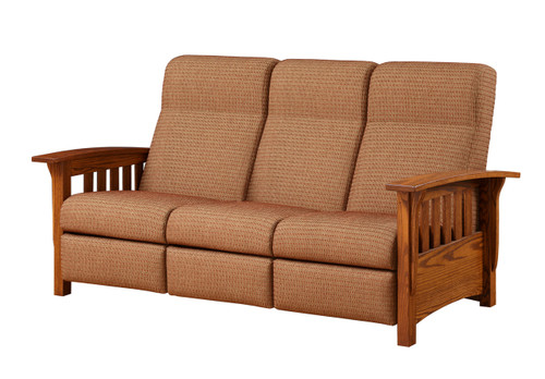 Classic Mission Sofa Recliner 163-ELM