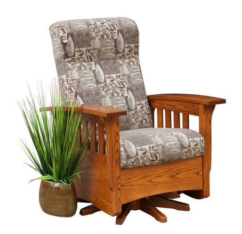 Classic Mission Swivel Glider 153-ELM