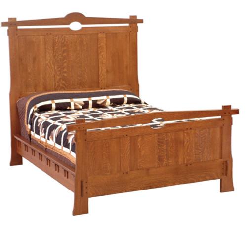 Harrison Mission Bed