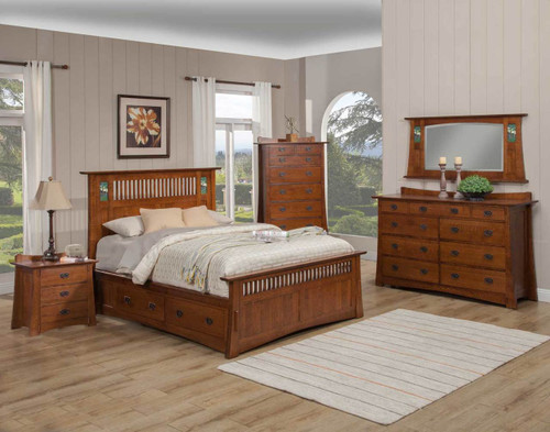 Arts and Crafts Bungalow Bed Collection by Trend Manor