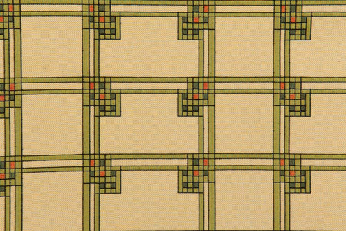 Louis Sullivan Art Glass Window Detail 1- Fabric by the Yard