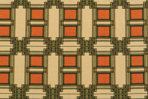 Louis Sullivan Art Glass Window Detail 2- Fabric by the Yard