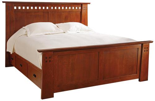 Highland Stickley Bed
