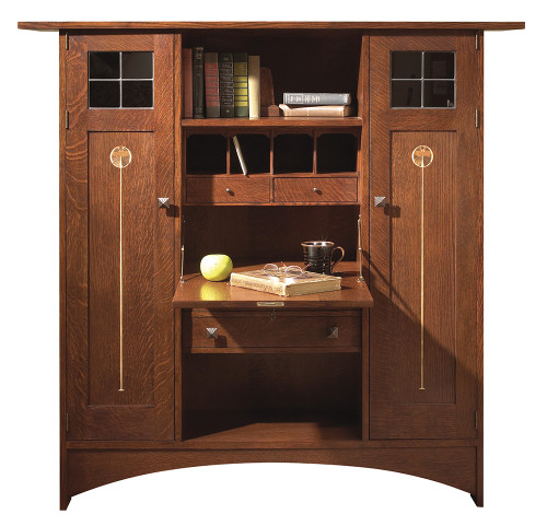 Ellis Fall Front Stickley Bookcase