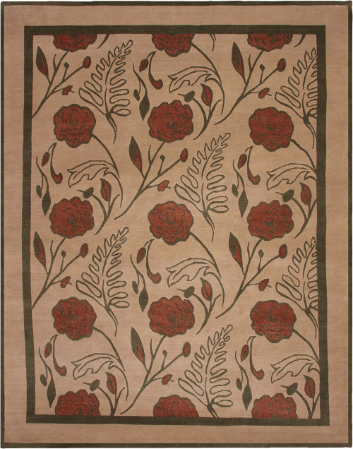 English Rose Stickley Rug