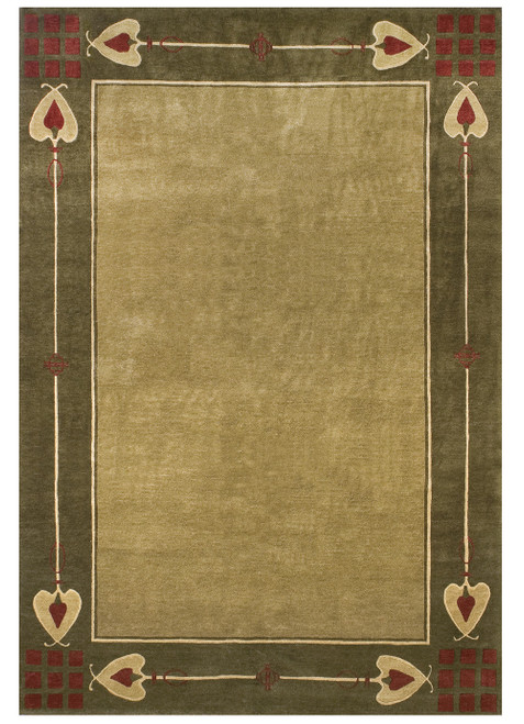 Highland Park – Green Stickley Rug