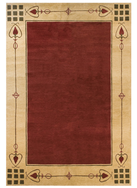 Highland Park – Red Stickley Rug