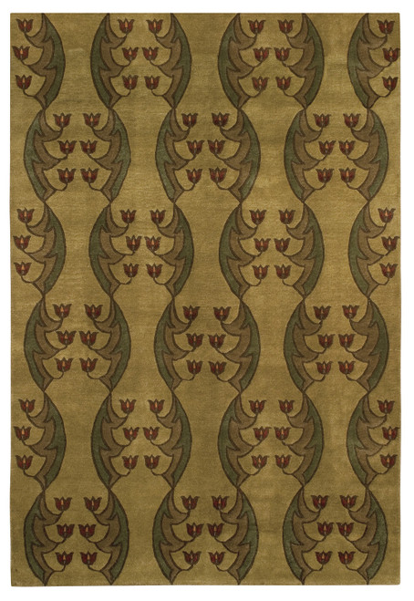 Light Tulip Fest Stickley Rug