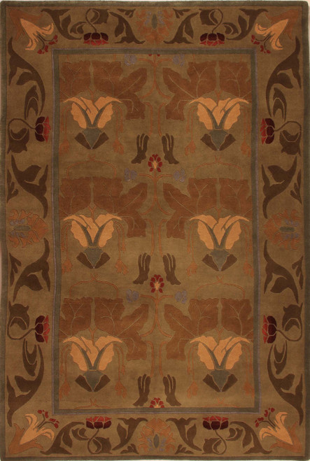 Morris Lily Stickley Rug