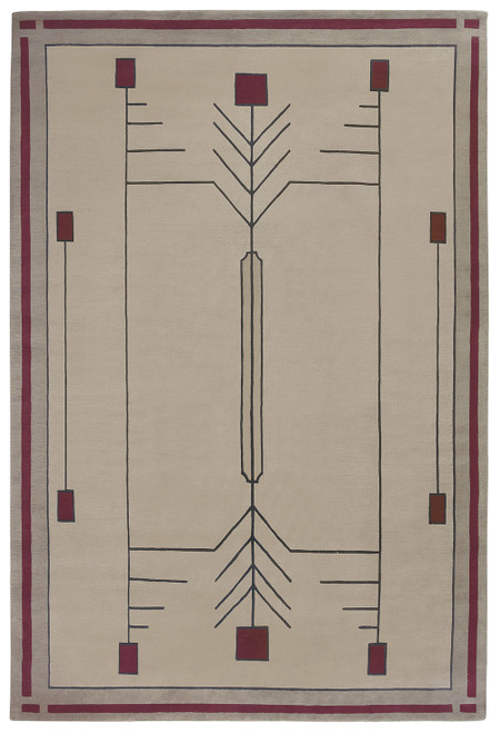 Prairie Sand Stickley Rug