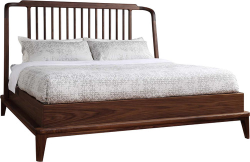 Walnut Grove Spindle Bed by Stickley
