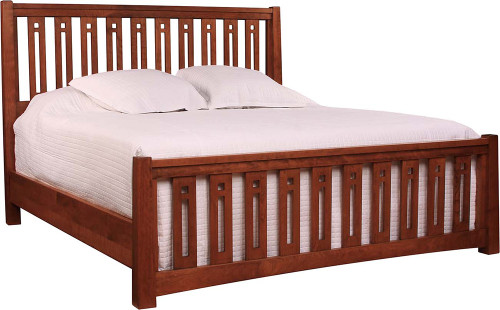 Highlands Pierced Slat Bed by Stickley