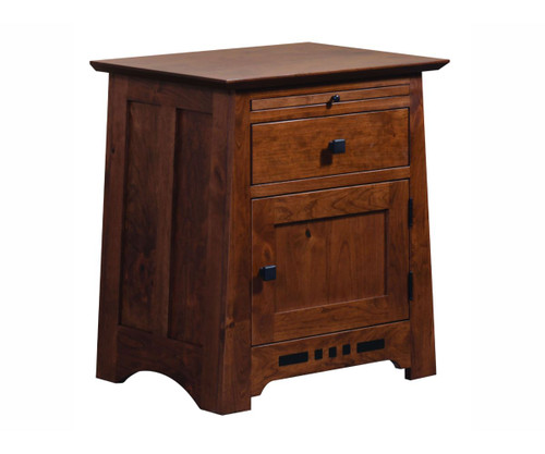 Pasadena Door Nightstand with Pullout
