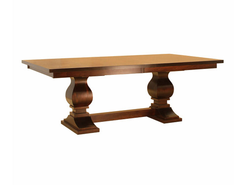 Madison Double Base Table with Leaves