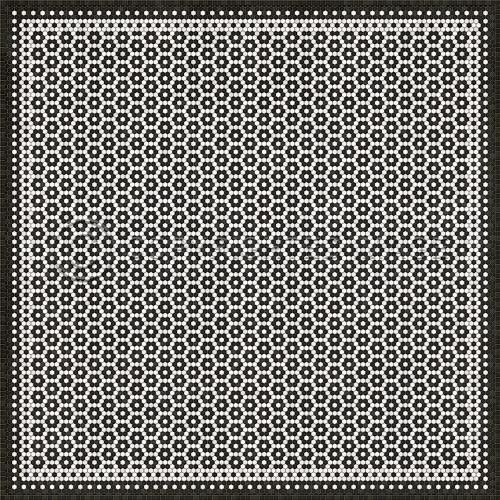 33086 MOSAIC C- CATHERINE ST 120 X 120 Vinyl Floor Cloth