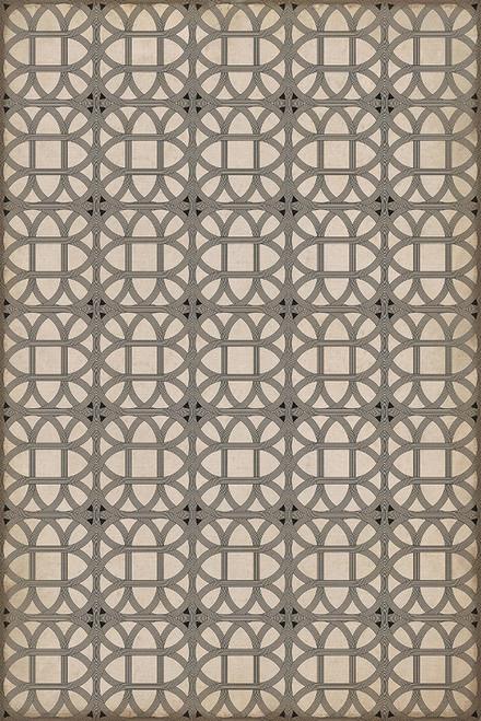 14148 LAMERIE LATTICE-JOSEPH WARD 20 X 30 Vinyl Floor Cloth