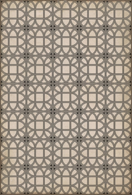 14149 LAMERIE LATTICE-JOSEPH WARD 38 X 56 Vinyl Floor Cloth