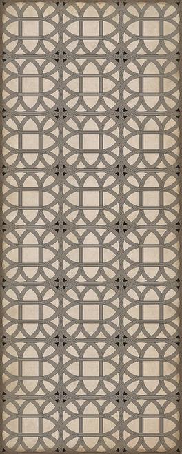 24366 LAMERIE LATTICE-JOSEPH WARD 36 X 90 Vinyl Floor Cloth