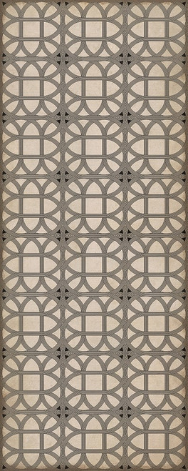 24366 LAMERIE LATTICE-JOSEPH WARD 36 X 90 Vinyl Floor Cloth