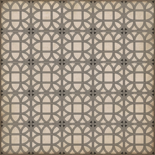 24368 LAMERIE LATTICE-JOSEPH WARD 36 X 36 Vinyl Floor Cloth