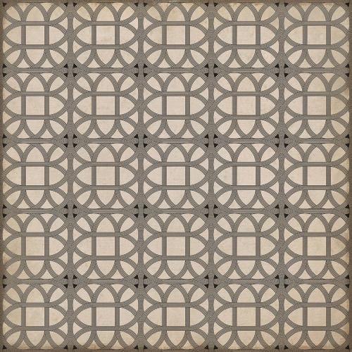 24368 LAMERIE LATTICE-JOSEPH WARD 36 X 36 Vinyl Floor Cloth
