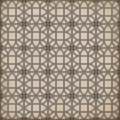 24369 LAMERIE LATTICE-JOSEPH WARD 48 X 48 Vinyl Floor Cloth