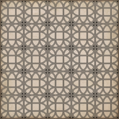 24369 LAMERIE LATTICE-JOSEPH WARD 48 X 48 Vinyl Floor Cloth