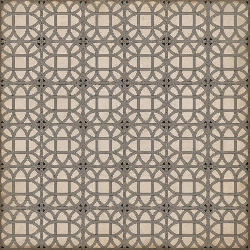 24370 LAMERIE LATTICE-JOSEPH WARD 60 X 60 Vinyl Floor Cloth